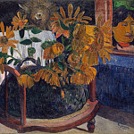 part 04 Hermitage - Gauguin Paul - Sunflowers
