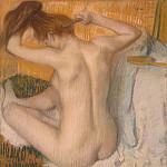 part 04 Hermitage - Degas, Edgar - combed woman