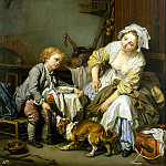 part 04 Hermitage - Greuze, Jean-Baptiste - a spoiled child