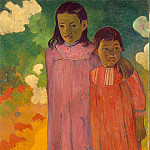 Two Sisters, Paul Gauguin