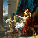 Sappho and Phaon, Jacques-Louis David