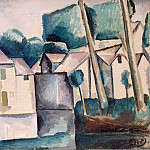 House near the water, Andre Louis Derain
