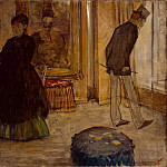 Interior with Two Figures, Edgar Degas