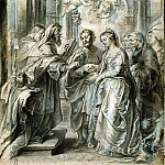 Marriage of Madonna, Peter Paul Rubens