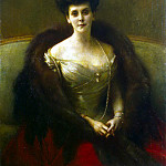 part 04 Hermitage - Danyang-Bouveret, Pascal Adolphe Jean - Portrait of Countess Gogenfelzen