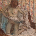 part 04 Hermitage - Degas, Edgar - Toilet