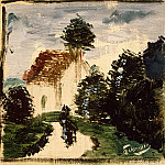 part 04 Hermitage - Derain, Andre - Path in the park with the character