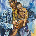 part 04 Hermitage - Guttuso, Renato - Portrait of Rocco and his son
