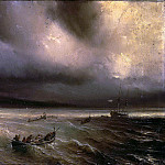 part 04 Hermitage - Gudin Theodore - Storm at Sea