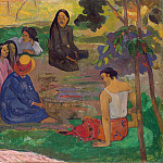 Conversation, Paul Gauguin