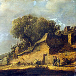part 04 Hermitage - Goyen, Jan van - Landscape with a peasant hut