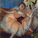 Seated Dancer, Edgar Degas