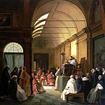 part 04 Hermitage - Granet, Francois Marius - Meeting of the monastery of the chapter