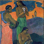 Women on the beach, Paul Gauguin