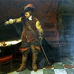part 04 Hermitage - Delaroche, Hippolyte - Cromwell at the tomb of Charles I