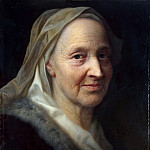 Portrait of an old woman, Balthasar Denner