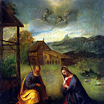 part 04 Hermitage - Giorgione - Adoration of the baby