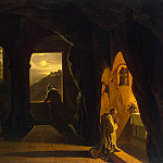 part 04 Hermitage - Granet, Francois Marius - Monks in a cave