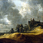 part 04 Hermitage - Goyen, Jan van - Beach at Scheveningen