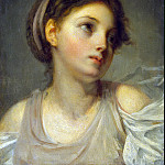 part 04 Hermitage - Greuze, Jean-Baptiste - Girl in a lilac tunic