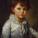 part 04 Hermitage - Greuze, Jean-Baptiste - Portrait of Count Stroganov, PA in childhood