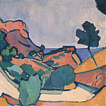The road between the mountains, Andre Louis Derain