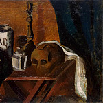 Still Life with a Skull, Andre Louis Derain