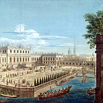 part 04 Hermitage - Greek, Aleksey Angilievich - View of the Summer Palace of the Empress Elizabeth