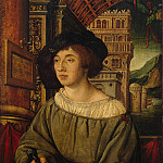 part 04 Hermitage - Holbein, Ambrosius - Portrait of a young man