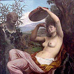 French artists - bellanger camille bacchante