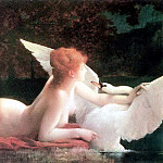 French artists - Leda and the Swan