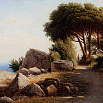 French artists - Kondratenko Gavril Landscape