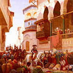 French artists - Bourgain Gustave Napoleons Entry Into Cairo