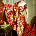 French artists - Hughes Talbot The New Dress