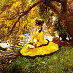 La Touche Gaston At The Riverbank, Gaston De Latouche