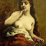 French artists - FOUACE GUILLAUME ROMAIN FEMALE NUDE