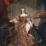 TOCQUE Louis – Marie Leczinska, Queen Of France, French artists