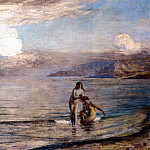 Menard Bathers on the Beach, French artists