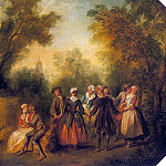 French artists - Lancret, Nicolas (French, 1690-1743) 2