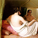French artists - A Woman Before A Mirror