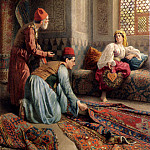 Ballesio Francesco The Carpet Sellers, French artists
