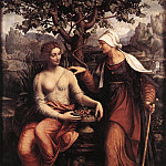 MELZI Francesco Pomona And Vertumnus, French artists