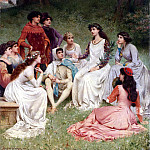 French artists - Wagrez Jacques Clement The Storyteller