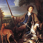 French artists - Self Portrait as a Huntsman