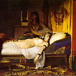 The Death of Cleopatra 1874, French artists