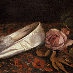 French artists - Gonzales Eva White Shoes