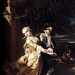 Dubufe Edouard Lovelaces Kidnapping Of Clarissa Harlowe, French artists