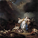 LEMONNIER Anicet Charles Gabriel Apollo And Diana Attacking Niobe And Her Children, French artists
