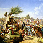 Habbe Nicolai Francois Market Day, French artists
