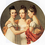 French artists - Drahonet Le Trois Graces
